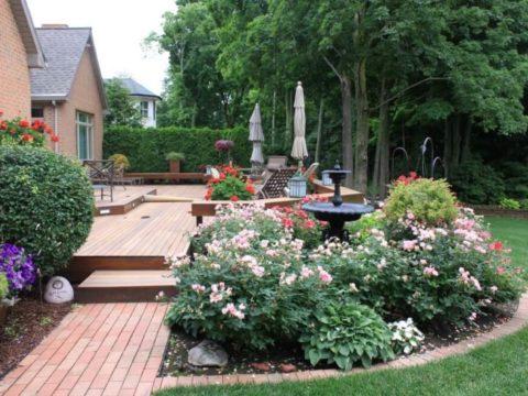 Миксбордер на даче и в саду: 5 крутых идей