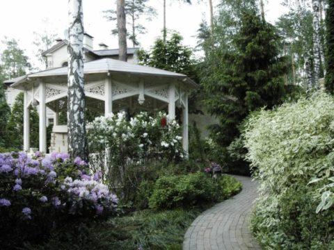 Оформление беседок в саду: 5 идей с расчетом стоимости